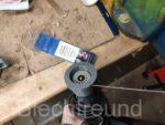WIG Elektroden Schleifgerät Eigenbau