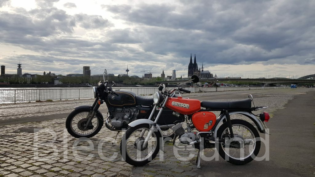 BMW und Simson in Köln