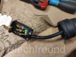 Reparatur Verlängerungskabel der Automatischen Kabeltrommel